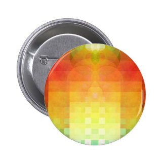 Colorful abstract image 2 inch round button