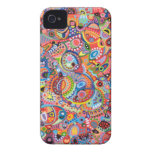Colorful Abstract iPhone 4 Case by Case-Mate