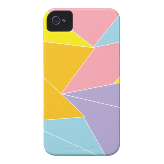 Colorful Abstract iPhone 4 Case-Mate Case