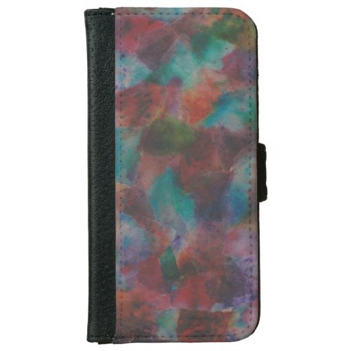 Colorful Abstract iPhone 6/6s Wallet Case