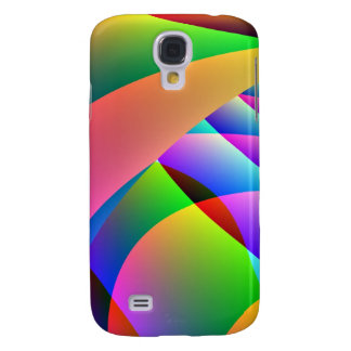 Colorful Abstract Jacobs Ladder Samsung Galaxy S4 Cover