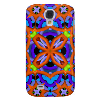 Colorful abstract kaleidoscope samsung s4 case
