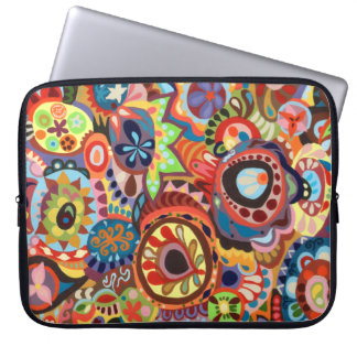 Colorful Abstract Laptop Sleeve