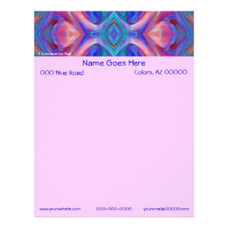 Colorful  Abstract Letterhead