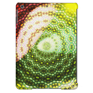 Colorful abstract light pattern cover for iPad air