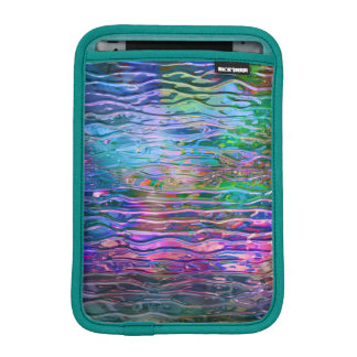 Colorful Abstract Melting Glass iPad Mini Sleeves