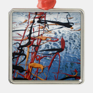 Colorful Abstract Metal Ornament