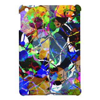 Colorful Abstract Mixed Media iPad Mini Case