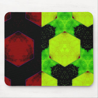 Colorful Abstract Mouse Pad