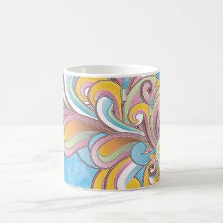 Colorful Abstract Classic White Coffee Mug