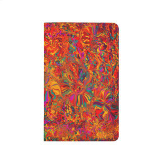 Colorful Abstract Multi Color Background Journal