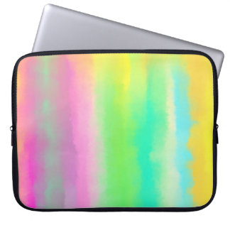 Colorful Abstract Oil Painting Computer Sleeve