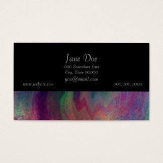 Colorful Abstract Painting Business Card