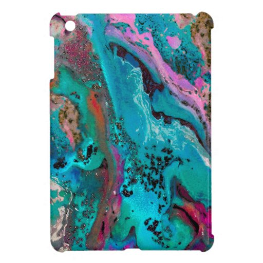 Colorful Abstract Painting Case For The iPad Mini