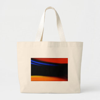 "Colorful Abstract Painting ""Embrace the Darkness"" Canvas Bags"