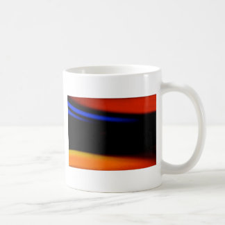"""Colorful Abstract Painting """"Embrace the Darkness"""" Coffee Mug"""