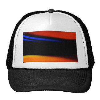 "Colorful Abstract Painting ""Embrace the Darkness"" Hat"
