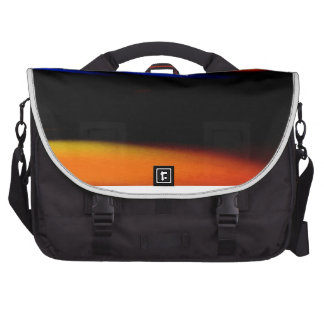 "Colorful Abstract Painting ""Embrace the Darkness"" Laptop Commuter Bag"