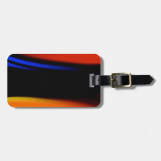 "Colorful Abstract Painting ""Embrace the Darkness"" Luggage Tags"