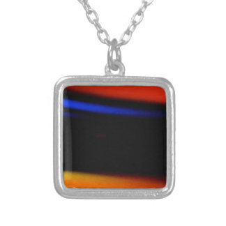"Colorful Abstract Painting ""Embrace the Darkness"" Personalized Necklace"