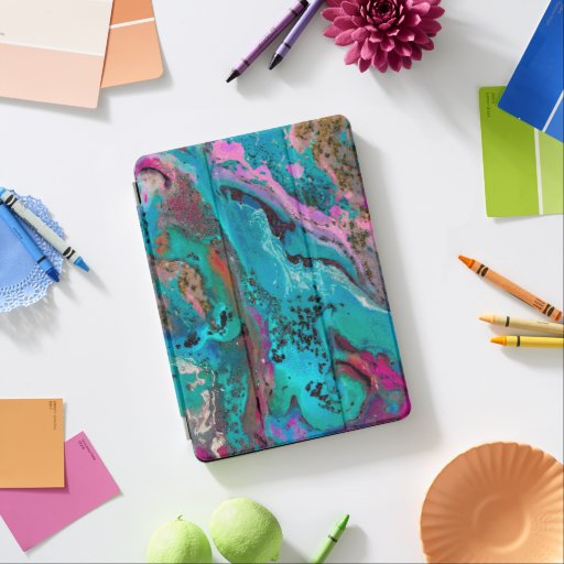 Colorful Abstract Painting iPad Air Cover
