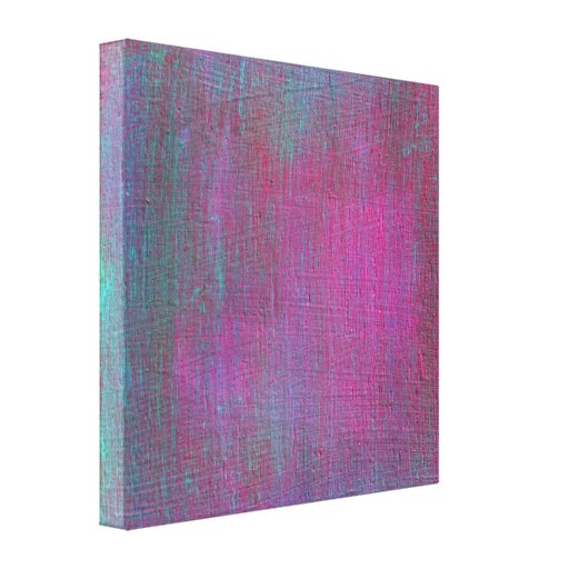 Colorful Abstract Painting on Canvas (Untitled #4) Canvas Prints