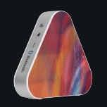 """Colorful Abstract Painting Pieladium Speaker<br><div class=""""desc"""">Custom designed Bluetooth Pieladium Speaker featuring a colorful abstract painting of vibrant colors interacting. A great addition to you in home or portable music listening or a great gift idea for birthdays,  Christmas or other occasions such as a Graduation present.</div>"""