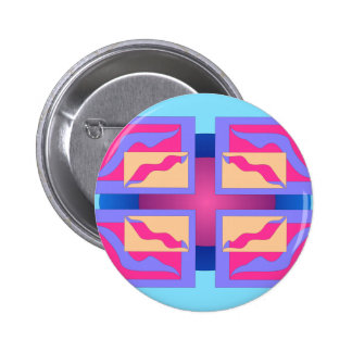 Colorful Abstract Panels Button