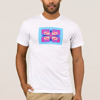 Colorful Abstract Panels T-Shirt