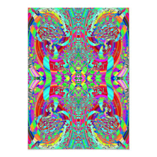 Colorful Abstract Pattern. Card