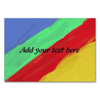 Colorful abstract pattern card