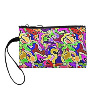 colorful abstract pattern Cosmetic Bag