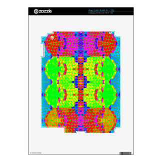 Colorful Abstract Pattern: Decals For iPad 2