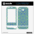 Colorful abstract pattern decals for LG tritan