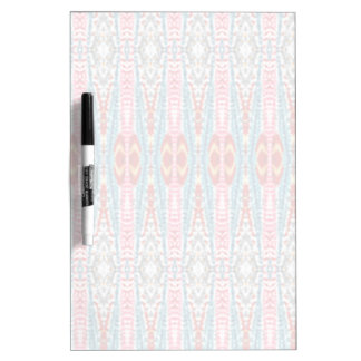 Colorful abstract pattern dry erase board