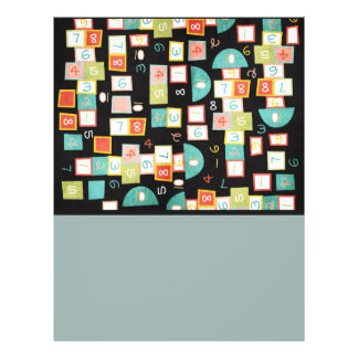 Colorful Abstract Pattern Flyer