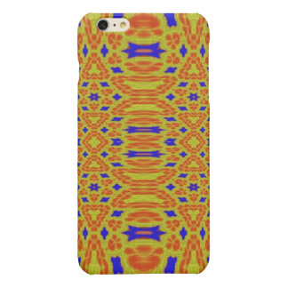 Colorful abstract pattern glossy iPhone 6 plus case