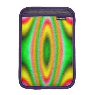 Colorful abstract pattern iPad mini sleeves