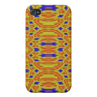 Colorful abstract pattern iPhone 4 cases