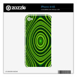 Colorful abstract pattern iPhone 4S decal