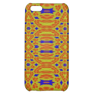 Colorful abstract pattern iPhone 5C case