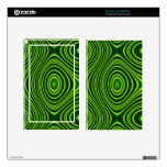 Colorful abstract pattern kindle fire skin