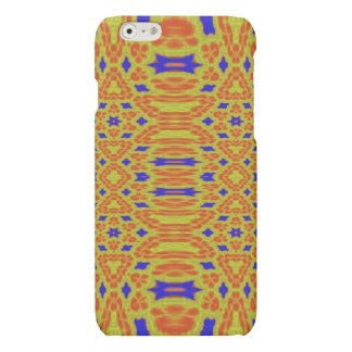 Colorful abstract pattern matte iPhone 6 case