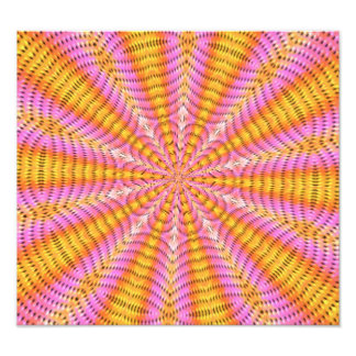 Colorful abstract pattern photo art