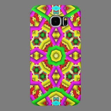 Colorful abstract pattern samsung galaxy s6 cases