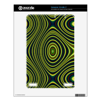 Colorful abstract pattern skins for the kindle 2