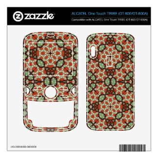 colorful Abstract Pattern ALCATEL Tribe Skins