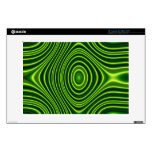 Colorful abstract pattern skin for laptop