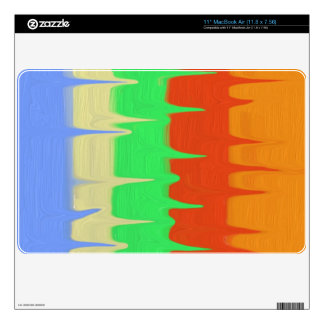 Colorful Abstract pattern Skin For MacBook