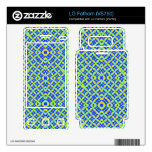 Colorful abstract pattern skin for the LG fathom